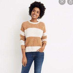 Madewell cozy teddy sweater